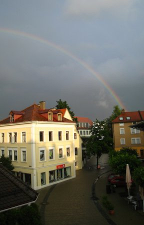Rainbow at our appartment
