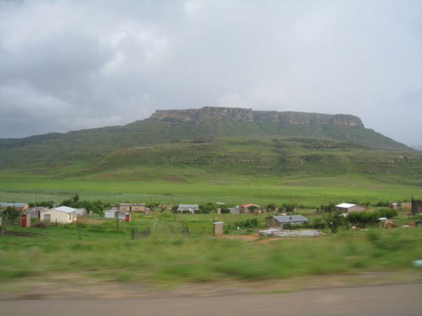 On our way to Lesotho